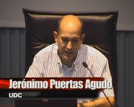 Jerónimo Puertas Agudo, doutor enxeñeiro de camiños, canais e partos, e catedrático de enxeñería hidraúlica da UDC. - Xornada sobre a Lei 9/2010, do 4 de novembro, de Augas de Galicia